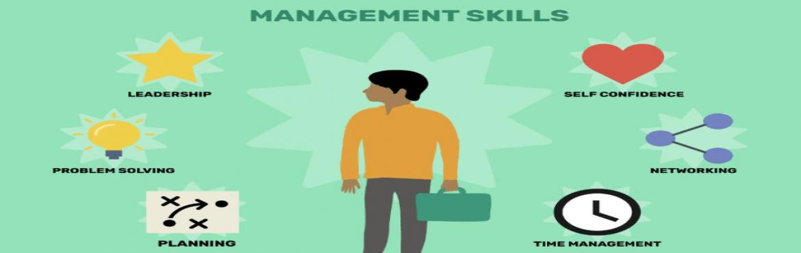 Book Online Tickets for Effective Management Skills - With Mr. N, Gurugram. Most new managers have the technical skills to succeed. What they most often lack is the skill of managing, motivating and developing their employees. This course is organized around three critical blocks of skills: First, managing and motivating ind