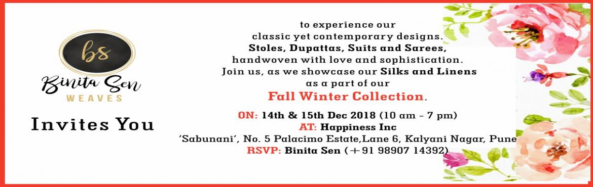 Book Online Tickets for Exhibition of Silks and Linens by Binita, Pune.