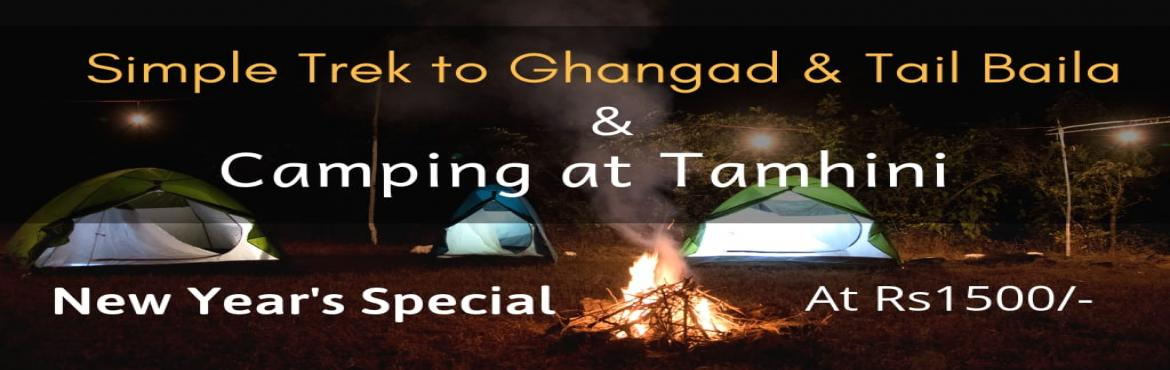 Book Online Tickets for New Years Special Trek to Ghangad Fort a, Tata Talav. Trekism Adventures and Outdoors Invite You To New Year\'s Special Trek to Ghangad Fort and Camping at Tamhini A plan suitable for all Groups, Families, Senior citizen, Children Camp Site: Behind Hotel Annapurna Shahahari ( Private Land) #Date: Saturd