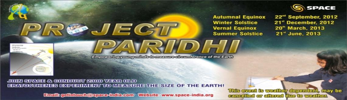 "Book Online Tickets for Let\'s measure the Earth again on Winter, NewDelhi. SPACE would like to inform you about our upcoming event, ""Project Paridhi""- Let's Measure the Earth Again. SPACE will be conducting this project on Winter Solstice, which falls on Dec 21st, as it marks an important day in the astron"