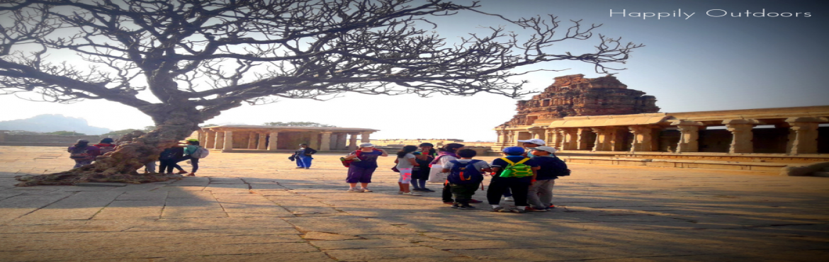 Book Online Tickets for Experiential Learning Camp at Hampi, Hampi. History, Trek, Science and Lots of Fun - ALL IN ONE TRIP!This December vacation let your child explore the Vijanagara Kingdom as history comes alive in these monuments. They will trek the boulders of Hampi and explore their new boundaries, enjoy the