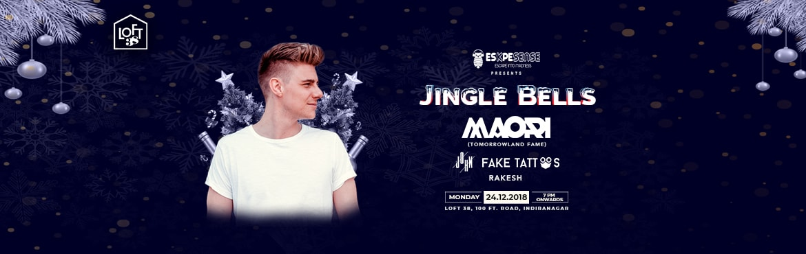 Book Online Tickets for Jingle Bells ft. Maori (Tomrrowland Fame, Bengaluru. The Biggest Christmas Eve party of the city is here...  After an amazing show last year, we are back another spectacular edition of \