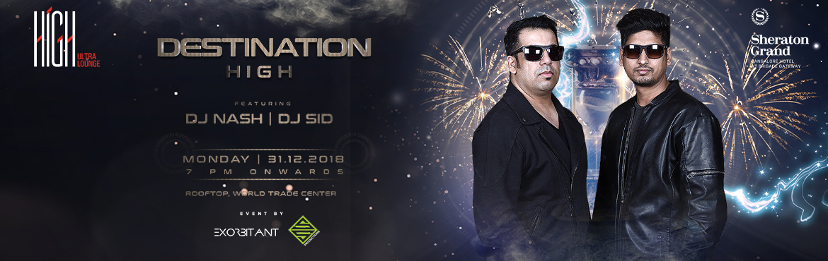 Book Online Tickets for Destination High, Bengaluru. BLOCK YOUR DATES, BENGALURU! New Year's is right around the corner and if you're looking forward to having a blast, we have just the ideal event in store for you. An absolute rager of a party is coming your way this New Year's at th