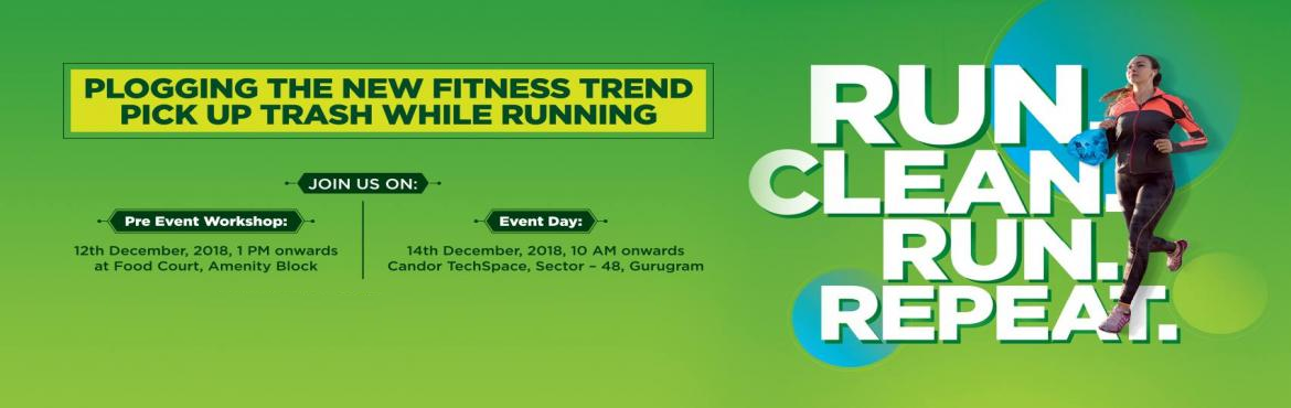 Book Online Tickets for Candor TechSpace to Organize Ploggers Dr, Gurugram. Candor TechSpace, theleading provider of IT/ITES office spacesin partnership with Ploggers of India, is all set to host a 'plogging' drive to promote fitnessand cleanliness among urban Indians.  The event will take