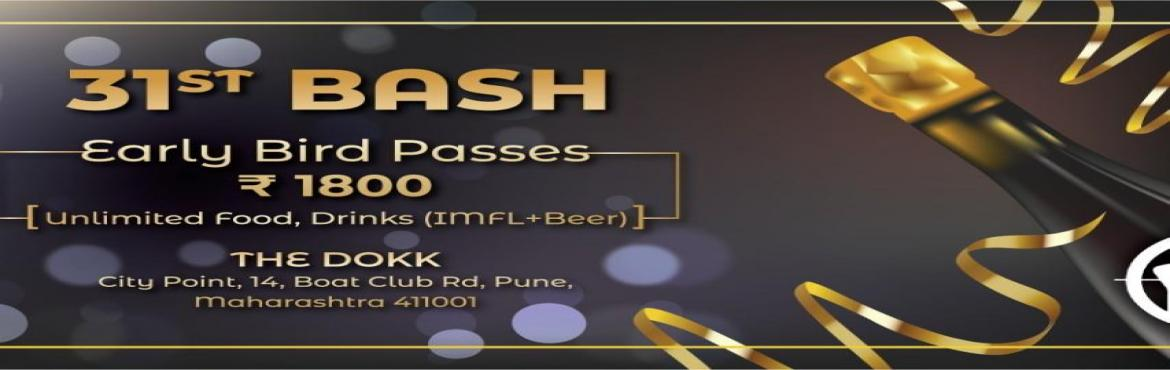 Book Online Tickets for New Year Bash 2019, Pune. Enjoy your New Year like never before, at one of Pune\'s best party venue! The Dokk Community Bar.  The party includes:   DJ Music at poolside Music to Dance Gala Lavish Unlimited food and Beverages Alcohol Tattoos Gift Vouche