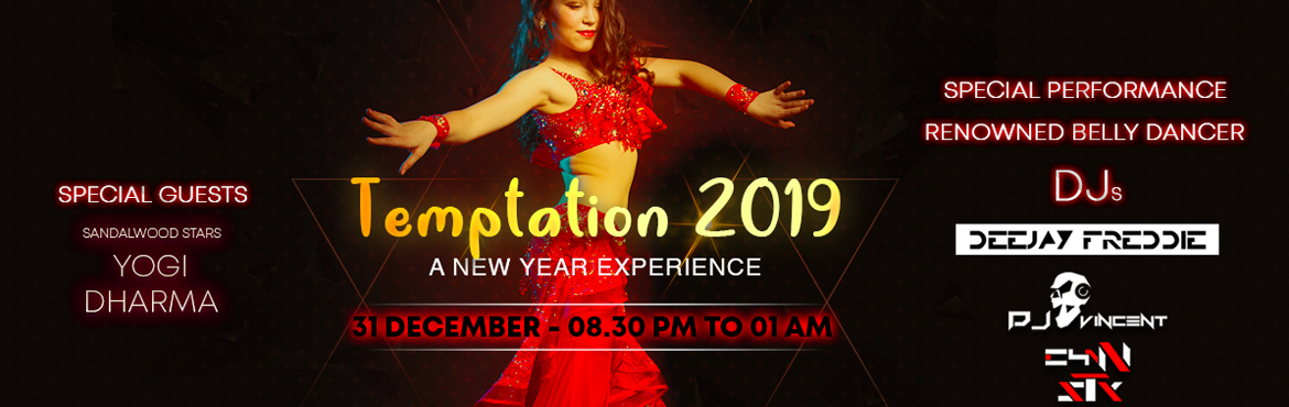 Book Online Tickets for Temptations 2019, Bengaluru. New Year's Eve is as an excuse to glam up and go all out- and we bring to you, The Temptation 2019 the most happening night of the year! Bring your family, tag your gang and join us at Wonder Mountain Valley Resort. With Three dance floors, and
