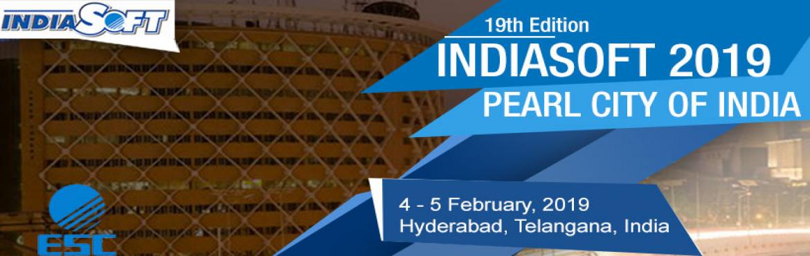 Book Online Tickets for INDIASOFT 2019, Hyderabad. Experience a world of innovations and explore the avenue of sourcing the best of IT products & solutions for the growth of your enterprise including Mobile Application Services, Cloud Computing, SAAS, Big Data Management, KPO, BPO, LPO, e-securit