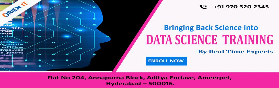 Data Science Training  -Make the most out of this Free Data Science  Demo in Hyderabad  get interacted with the  Data Science domain experts scheduled