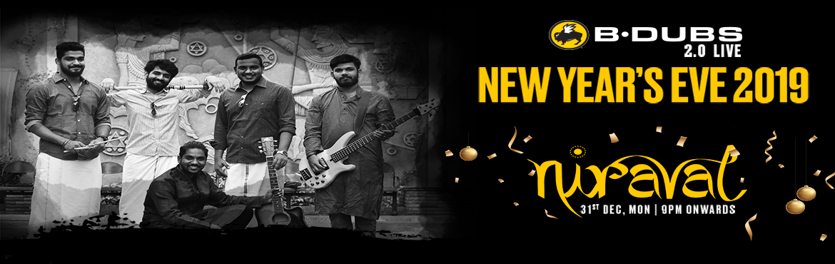 Book Online Tickets for NYE 2019 with Niraval Live Band at B-DUB, Hyderabad. B-Dubs Presents Niraval Live Band this new years eve. Come celebrate the New Years the B-Dubs way with Unlimited IMFL and lip smacking Starters. Artist Bios : Krishnan Ganesan - Principal Engineer in a Hedge-fund, Vocalist / Keyboard Player and aspir