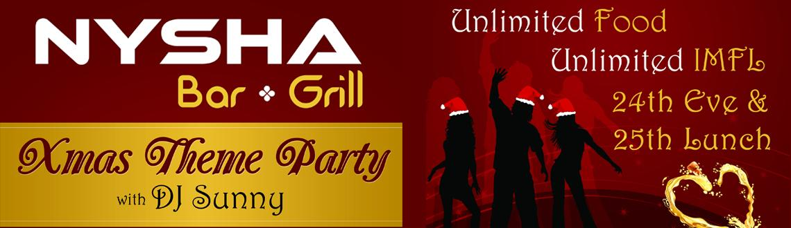 Book Online Tickets for Xmas Lunch Theme Party, Noida. Xmas Theme Party Lunch  Unlimited food unlimited IMFL Dance on the music have fun n cheer  its time to be happy as Christmas is here....!!!!    FAQ\\\'S:  Q1 Entry time for the event  Gates Open @ 1pm  &n