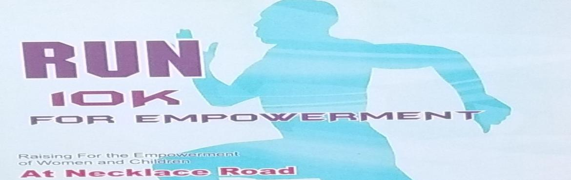 Book Online Tickets for Run 10k for Empowerment, Hyderabad. Run 10K for Empowerment is organized by NBS for the first time in Hyderabad for the foundation to empower women and child Each Runner participation provides a Health Camp for the society in needed and distribution of Free Medicine to them  &nbs