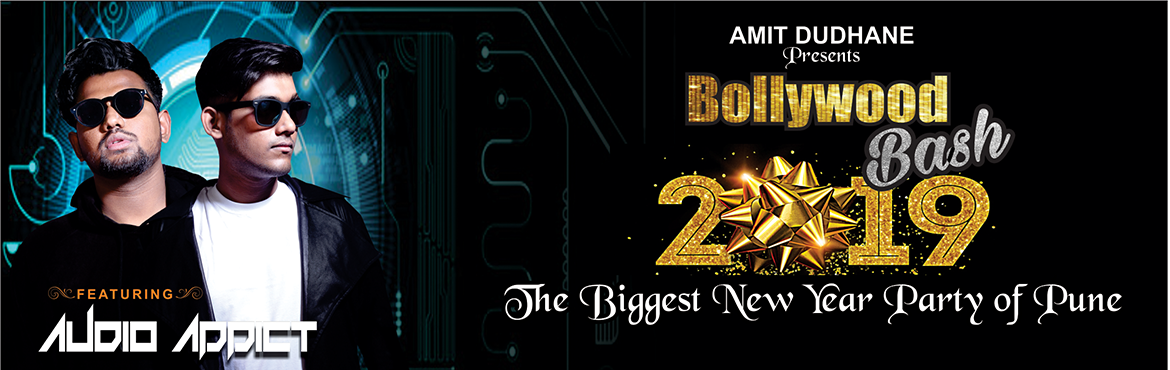 Book Online Tickets for Bollywood Bash 2019, Pune.      Bollywood Bash 2019 is the hottest and biggest new years party which is going to held in pune at Dudhane Lawns karvenagar on 31st December 2018. Come and celebrate fabulous music, groovy dancing and the biggest light and fireworks show this new