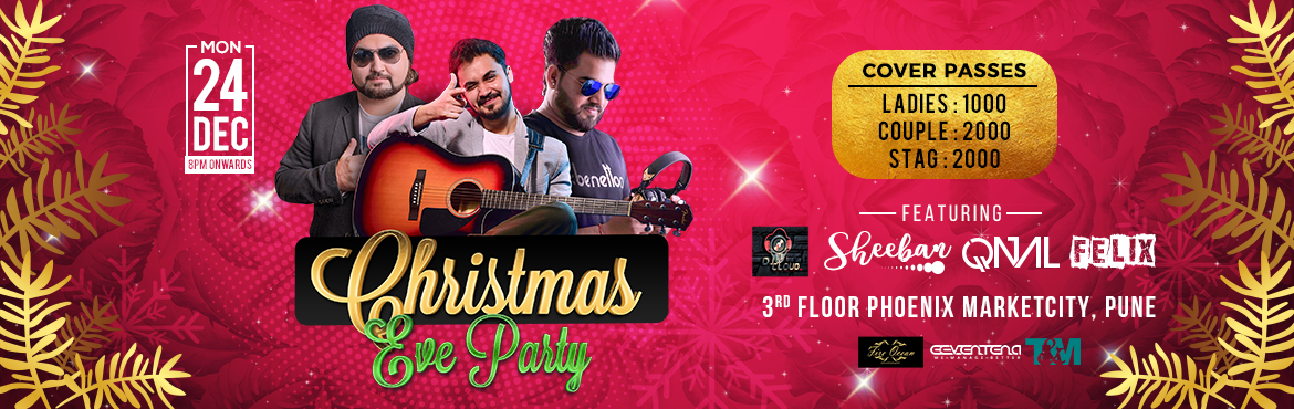 Book Online Tickets for Xtmas Eve Party December 2018 , Pune. Put on Your Santa Hats People! It\'s time to party at All Rounder Shots and Fire Ocean Events. Catch a live performance and popular DJs to light the night up up and away! Venue: All Rounder Shots, Third Floor - Above Food Court, Phoenix Marketcity Ma