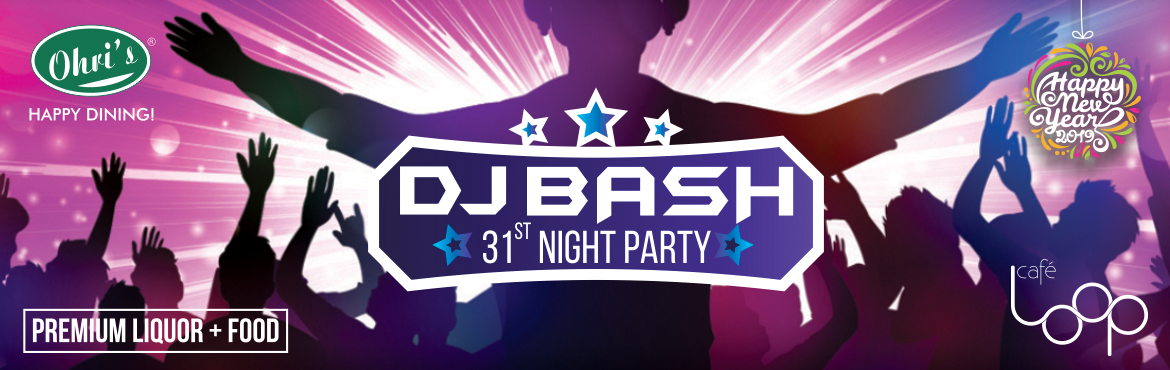 Book Online Tickets for New Year Eve DJ bash @ Ohris Cafe loop, Hyderabad. Make this New Year Eve 2019 a memorable one by Planning a sweet Gesture with your Family and Friends at Ohri's restaurants!! This new year, reverberate in the celebrations at your favorite Ohri's restaurants with: Live music DJ Unlimited