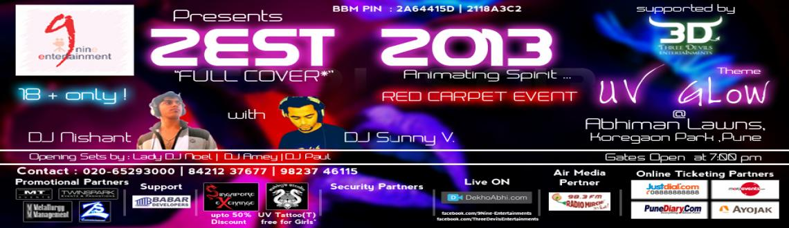 First time in Pune ...RED CARPET with UV GLOW Theme ...
