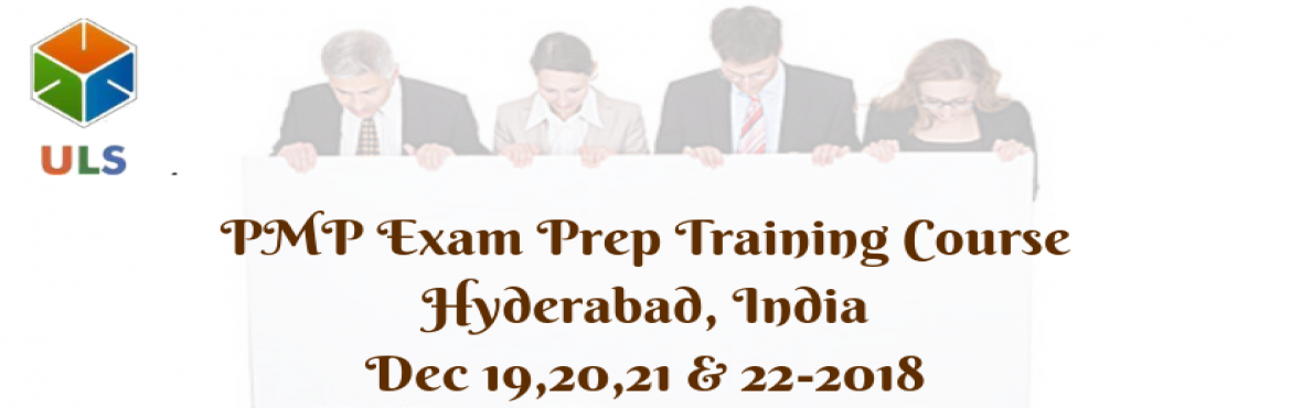 Book Online Tickets for PMP Certification Training Course in Hyd, Hyderabad. UlearnSystem\'sOfferPMP CertificationTraining Course in Hyderabad,India. Key features of PMP Exam Prep Training Course: The course is designed according to the exam pattern the demands of the current time. ThePMP CERTIFICATION