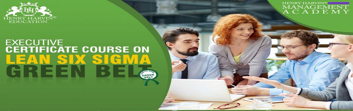 Book Online Tickets for Lean Six Sigma Green Belt Course by Henr, New Delhi. Henry Harvin® Education introduces 5-days/20-hours Live Online Training Session. Based on this training,examination is conducted, basis which certificate is awarded. Post that, 6-months/12-hours Live-Online Action Oriented Sessions withfocus onim