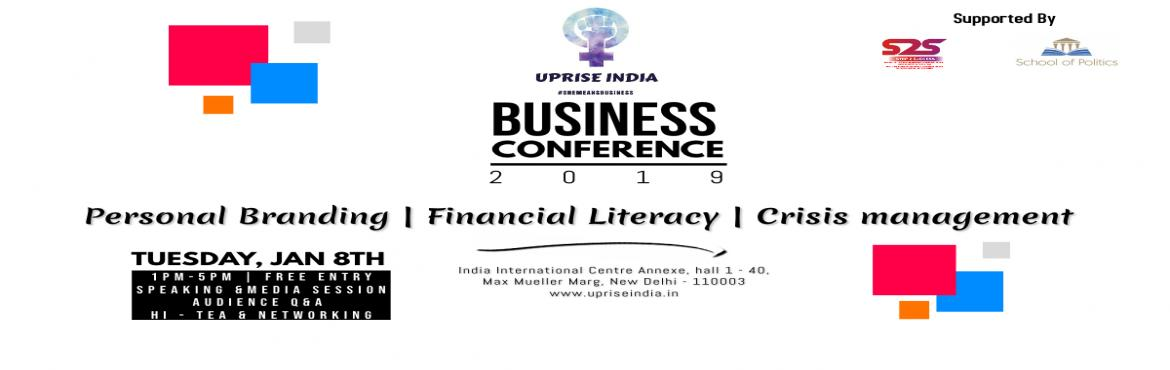 Book Online Tickets for Uprise India Foundation Business Women C, New Delhi. This is an initiative taken by Uprise India Foundation in order to provide the required essential tools and the resources for the upliftment and broadening of the career spectrum for Women Entrepreneurs in India.  Through this initiative we are attra