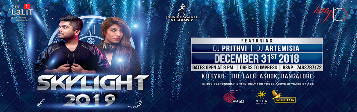 Book Online Tickets for SKYLIGHT 2019, Bengaluru. This December 31st, ascend to the peak of sophisticated revelry at Kitty Ko - Bangalore! Ring in 2019 with Glitter, Champagne and Fireworks on the decks of India\'s No.1 Nightclub - Kitty Ko, to find the perfect atmosphere and enjoy a spectacular New