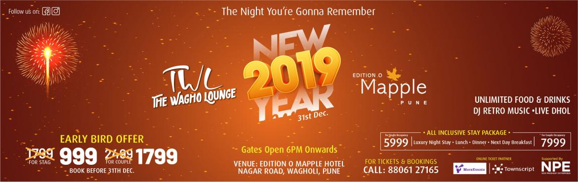 Book Online Tickets for The Mappy Bash - Grand New Year Celebrat, Pune. Welcome the new year with a bang. Be a part of a rocking celebration this new year eve with Dj, music, dance, live performance, lots of booze, and a delicious buffet. Get ready to witness a memorable evening with your friends and family with somethin