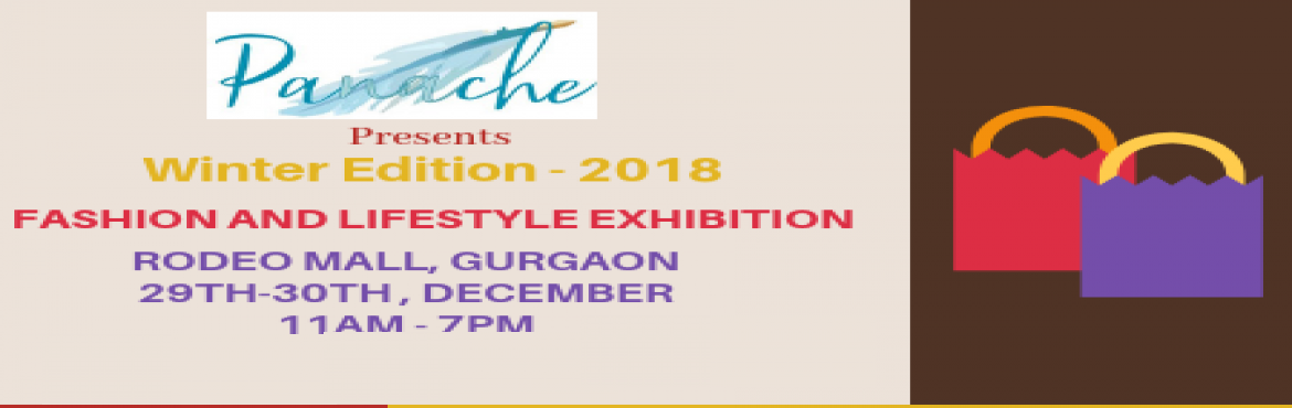 Book Online Tickets for Panache Presents Winter Edit 2018, Gurugram. Here\'s a not to be missed Fashion & Lifestyle Exhibition which brings forth a pool of prominent exhibitors at a common platform.