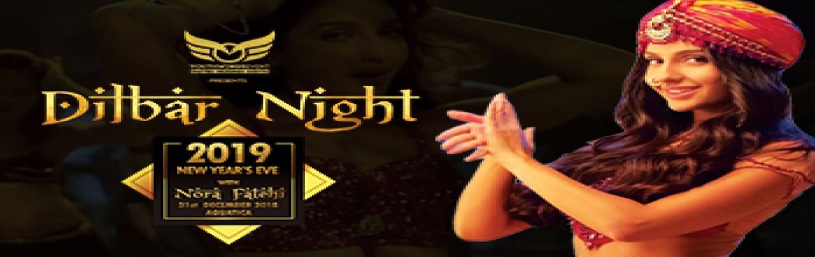 Book Online Tickets for Dilbar Night NYE 19 ft Nora Fatehi, Kolkata. The Event Dilbar Night will be a visual extravaganza featuring celebrities,foot tapping music,Celebrity DJ's,an array of lip smacking food and a range of liquor.The event will feature Bollywood damsel Norah Fatehi,known best for performance in