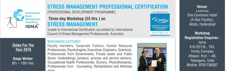 Book Online Tickets for Stress Management  Professional Internat, Hyderabad.   Download Detailed Brochure