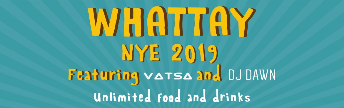 Book Online Tickets for Whattay NYE 2019, Bengaluru. launch party & NYE celebrations? Experience a magical space this NYE, tucked in a greener city Bangalore. From having a Lake view to an in house pond and a 25,000/- SQ feet structure built amidst trees, we have never felt closer to Nature. Whatta