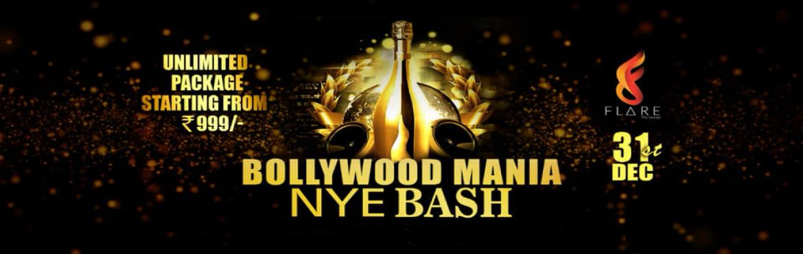 Book Online Tickets for FLARE THE LOUNGE - Pune Presents BOLLYWO, Pune. FLARE THE LOUNGE - Pune Presents***** BOLLYWOOD MANIA******** 2019 New Year's Eve *****As 2019 New Year begins and 2018 ends, we\'d love to celebrate it in style, with you, As the clock winds down and the old year ends we'd love to