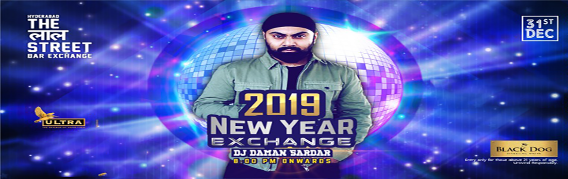 Book Online Tickets for New year Eve 2019 at The Lal Street, Hyderabad. Hey, Hyderabad are you ready for the best New year fest? Hyderabad's 1st exchange bar brings you the awaited New Year Event 2019! Bring your appetite and your thirst, we're having a big blow out, yes you heard it here first. Glitter yours