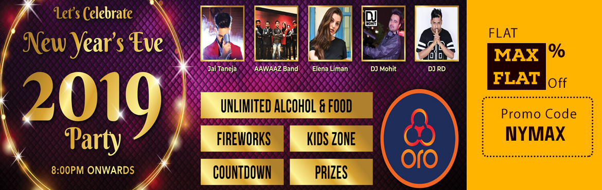 Book Online Tickets for New Year eve 2019 at ORO Sports Village, Hyderabad. Liquor Menu :  Chivas 12 yrs  Absolute Bacardi  Carlsberg  Event Highlights:  Poolside Venue Live band from Delhi with Jay Taneja as the lead vocalist of T Series fame with 2 hits Jaana Kahan & Inteezar also in the band is a Ukrainian singe
