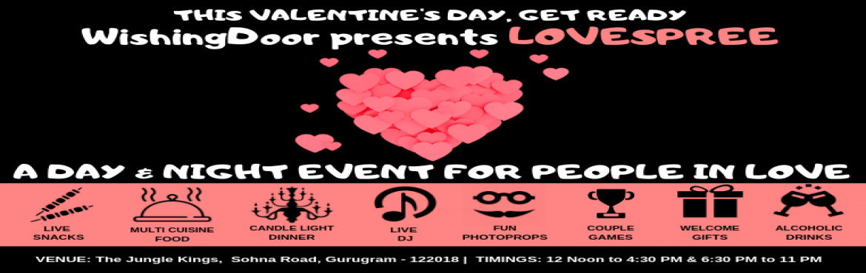 Lovespree By Wishingdoor A Valentines Day Event Gurugram