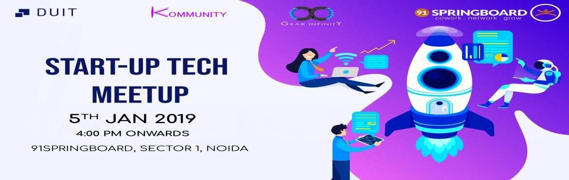 Book Online Tickets for Start-Up Tech Meetup, Noida. About: A casual meetup where Startup enthusiasts, Co-founders, CTOs, Entrepreneurs, Developers, Designers, Students and Interns are invited to discuss about current technology and startup experiences. Share your experience in Application, Website and