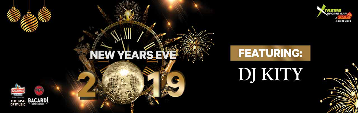 Book Online Tickets for New Years Eve 2019 at Xtreme Sports Bar , Hyderabad. This new year come to XTREME SPORTS BAR and welcome the New year 2019 in a rocking way. DJ KITY, Xtremes in-house DJ is known to play some foot stomping HIP HOP, HOUSE, EDM, COMMERICAL AND BOLLYWOOD Dance Music. Catch him spin his New Years special t