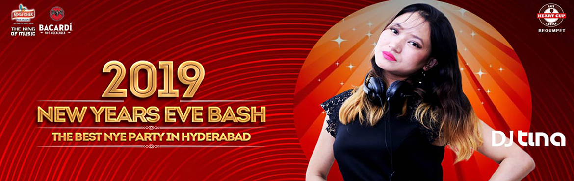Book Online Tickets for New Years Eve 2019 at Heart Cup Coffee B, Hyderabad. A Celebration of New Year Eve 2k19 kicks off the Biggest new year eve in style. A Platform for all party enthusiasts to enjoy. Best memories come from the perfect celebrations. Enjoy the last day of the year at HCC Begumpet. End your year with a bang