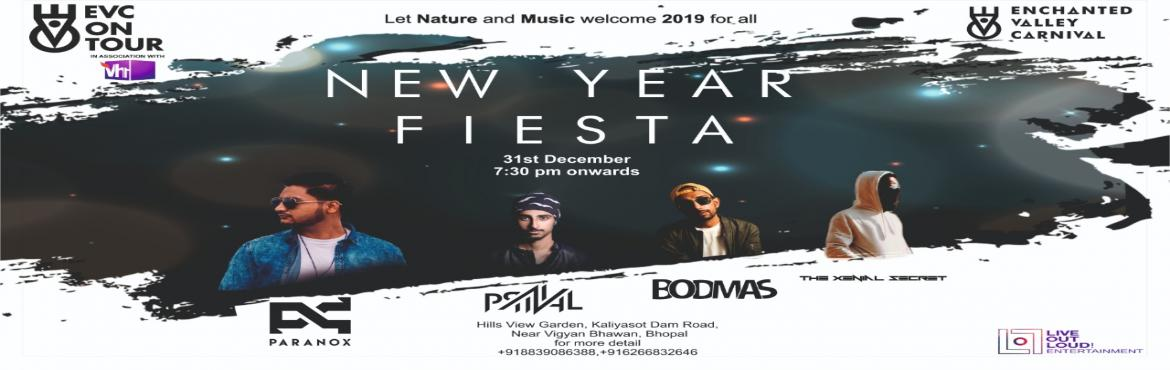 Book Online Tickets for Vh1 and Enchanted Valley Carnival - NEW , Bhopal. Vh1 and Enchanted Valley Carnival are coming together to Welcome 2019 in their own style. Let\'s celebrate the New Year in the valley of Kaliyasot and Kerva with ultimate experience of music, food and nature.