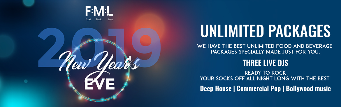 Book Online Tickets for FOOD MUSIC LOVE 19 @ HINJEWADI, Pune. We\'ve got the most exclusive New Years Eve party anywhere!  Come spend the last night of the year with us, your family, gang and just everybody you love! THREE LIVE DJS set to rock your socks off all night long, as we bring in 2019 in style wi