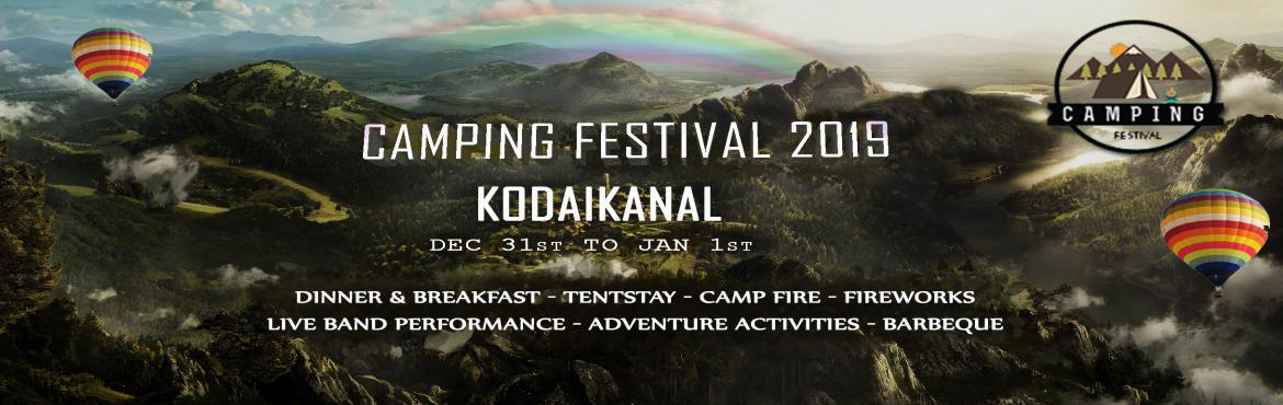 Book Online Tickets for Camping Festival Kodaikanal New Year 201, Kodaikanal. Camping Festival is here to gather nature lovers campers and travelers at one place , to celebrate , to nurture, to have a best ever nature filled fun party with yummy food and mind blowing music .. Designed to celebrate on the eve of new yearThis ye