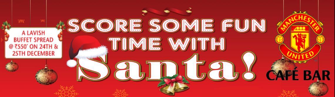 Book Online Tickets for Christmas Lavish Buffet@Man Utd Cafe Bar, Mumbai.