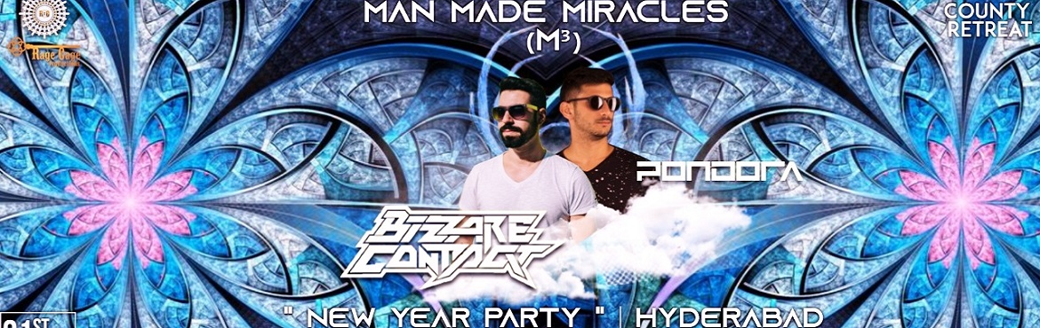 Book Online Tickets for Man Made Miracles NYE with Bizzare Conta, Hyderabad. 2019 shall start with the biggest bang as Rage Cage is back in action & goes full-throttle once again!Starring Bizzare Contact & Pondora and featuring a long list of other favourite acts from in and around the city, here\'s the most powerful