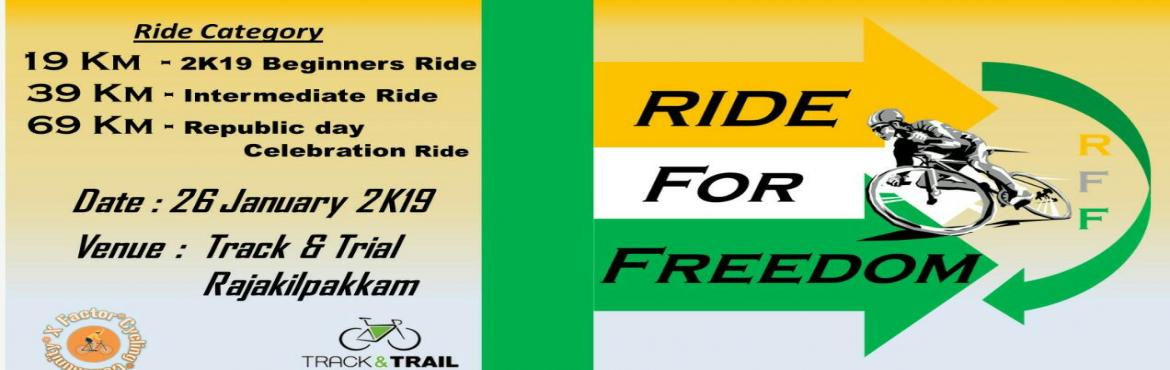 Book Online Tickets for RIDE FOR FREEDOM, Chennai. About the Event: The Freedom Ride celebrates the power of the bicycle to connect our communities and our cities.The ride is a fun, social (non-competitive) event and is open to everyone – from those learning to ride to pro cyclists, both young