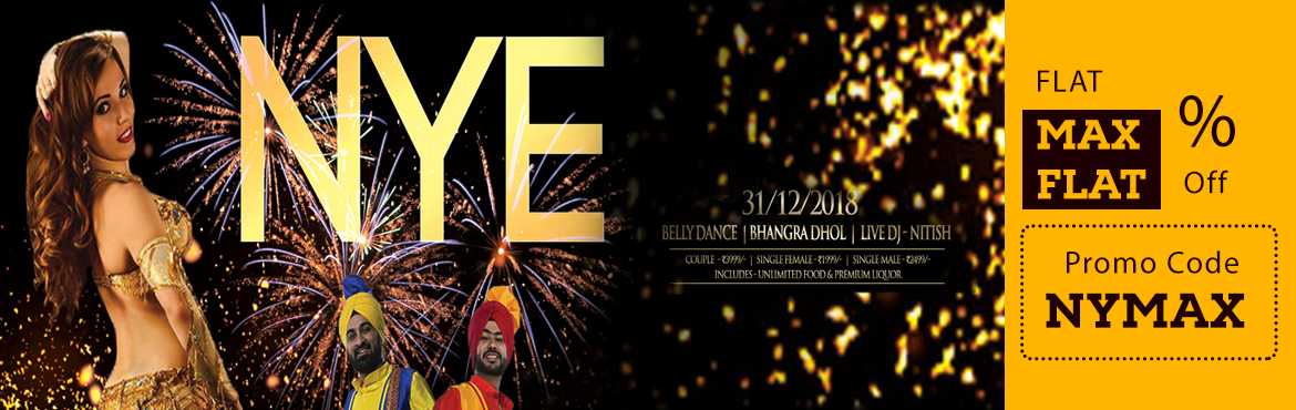 """Book Online Tickets for New Years EVE Party at 7 Barrel Brew Pub, Gurugram. New Year\'s Eve Party - Belly Dance + Bollywood DJ + Live Dhol + Open TerraceRing in 2019 at 7 Barrel Brew Pub\'s New Year Eve Celebrations Party and enjoy a truly memorable night that takes the """"Party"""" scene to the next level. With"""