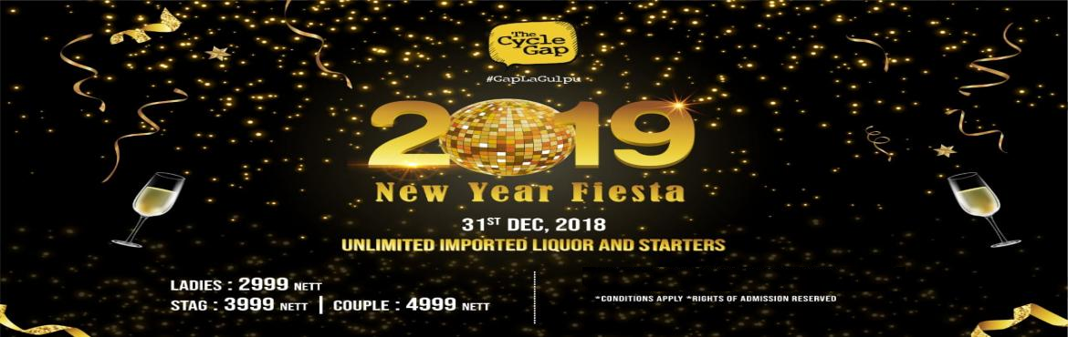 Book Online Tickets for New Year Fiesta @ The Cycle Gap, Anna Na, Chennai. Let'sembrace the wake of the newyear with free-flowing booze and never-ending chow only at The Cycle Gap's New Year Fiesta 2019 on 31st Dec 2018