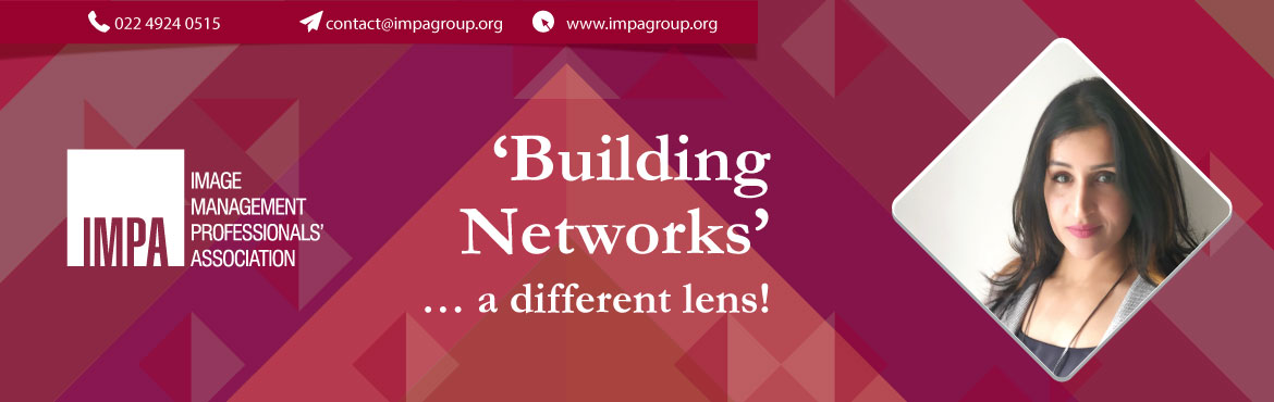 Book Online Tickets for Building Networks a different lens, Bengaluru. About the expert - Shruti Jaiswal Leadership, Talent & Inclusion,Neuroscience Executive Coach, ADDIE Instructional Design Certified, NLP High Impact Coaching, CEB Assessment Certified, Leadership Practice Inventory (LPI) Assessment Certified &nbs