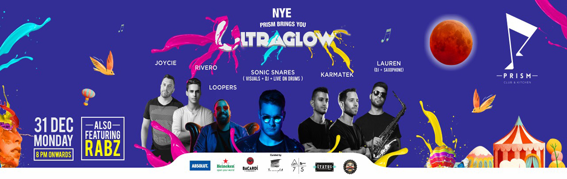 Book Online Tickets for NYE 19 - Ultra Glow Paint Party at Prism, Hyderabad.  Beckoning a new day a new year like never before. Envelop and immerse yourself in euphoric atmosphere this NYE at your favorite destination that has become a benchmark of triumphant celebration.  STAGE 1:Australia's Largest Paint P