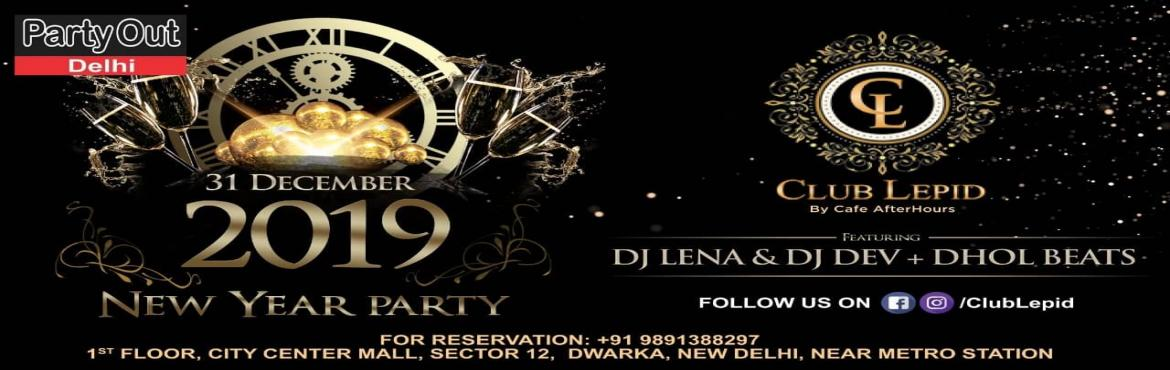 Book Online Tickets for New Year Party, Delhi. Join us for a fun-filled night with dhol beats and international music with DJ Lena and DJ Dev and welcome 2k19 with a bang. *Unlimited Package Details :•Alcoholic & Non-Alcoholic Drinks•Finger Licking Veg & Non-Veg Snac