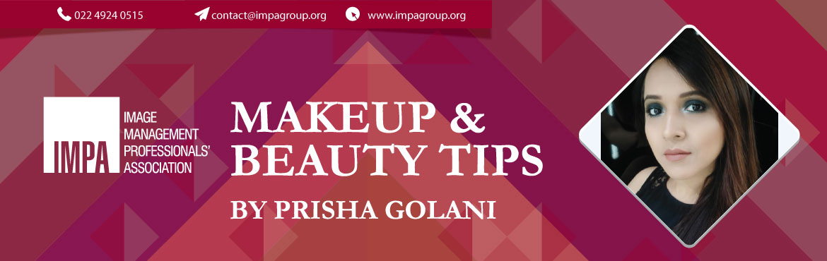 Book Online Tickets for Makeup and Beauty Tips by Prisha Golani, Pune. About the expert - PRISHA GOLANI   Prisha is a certified makeup artist from Fat Mu Academy (Mumbai). She has experience in bridal, party, editorial, B/W, fashion, natural nude makeup, etc. She is presently a part time makeup artist with MAC Cosm