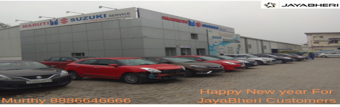 Book Online Tickets for JAYABHERI AUTOMOTIVES WINTER NEW YEAR CH, Hyderabad. About The Event Jayabheri happy to announce free Maruti general New Year checkup camp 2019.  we provide services like Engine oil top up, Break oil top up, Coolant top up, Checking headlights, Greasing for doors,  Checking wipers,