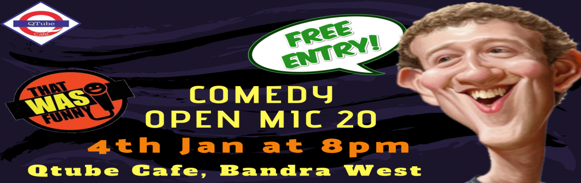Book Online Tickets for Comedy Open Mic-20 FREE ENTRY, Mumbai. FREE ENTRY \