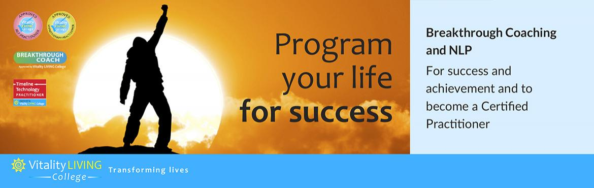 Book Online Tickets for Breakthrough Coaching with NLP with Dr R, Mumbai. Become a coach - Program your life for success Breakthrough Coaching with NLP Practitioner  6th – 12th March 2019 (Wednesday – Tuesday) 9am to 8pm  The Club, No 197, D.N. Nagar, Andheri West, Mumbai, India 400458  Fast track to succe